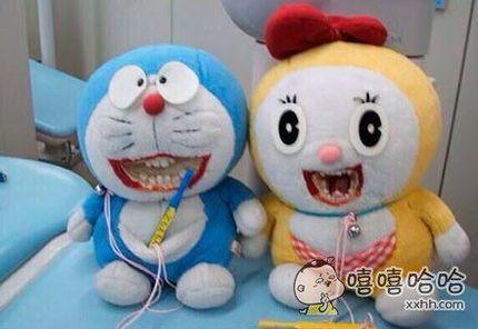 一牙医家的机器猫