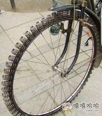 减震巨好的轮胎,霸气