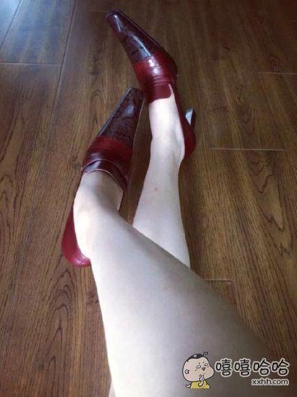 这鞋我真的什么都说不出来