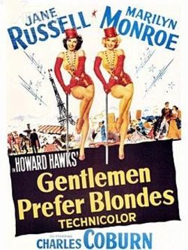 绅士喜爱金发女郎
