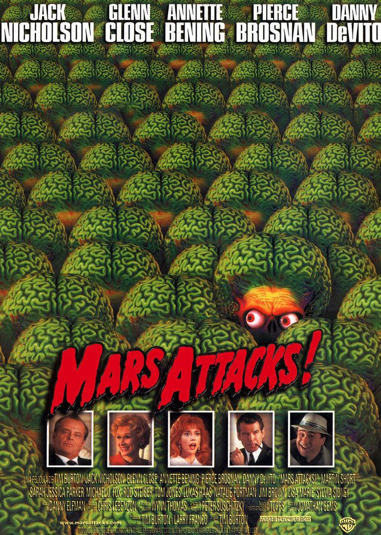 火星人袭击地球