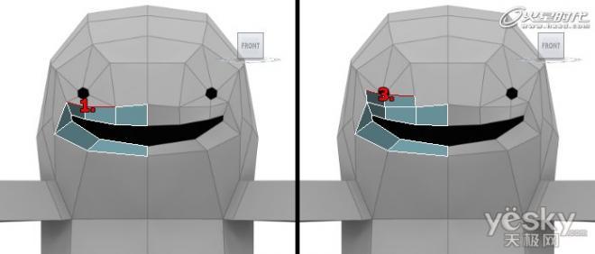 3DsMAX细分曲面创建可爱三维怪物