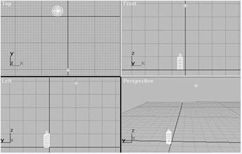 3D MAX模拟跳动的烛光
