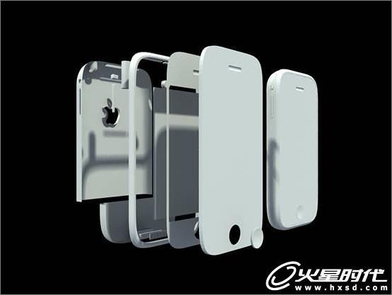 3ds Max iPhone手机建模渲染技巧