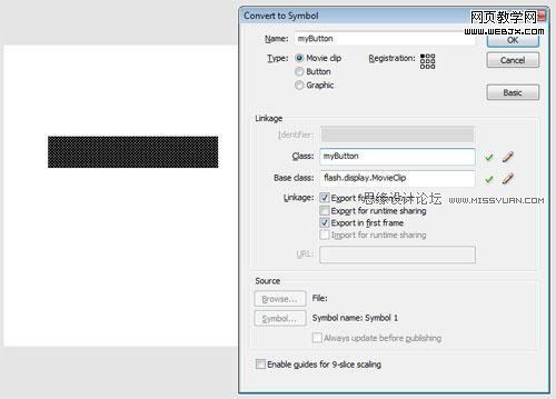 Flash AS3制作个性的旋转圆形网页导航