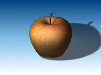 倒角详解:用Bevel方法制作苹果